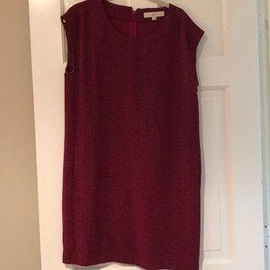 LOFT Dotted Dress